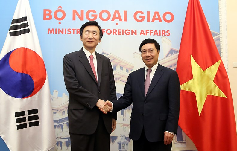 Bộ trưởng Ngoại giao Hàn Quốc thăm chính thức Việt Nam. - ảnh 2