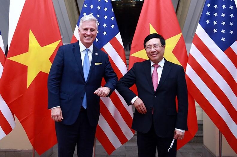 Quan hệ Việt Nam-Hoa Kỳ chưa bao giờ phát triển mạnh như hiện nay - ảnh 1