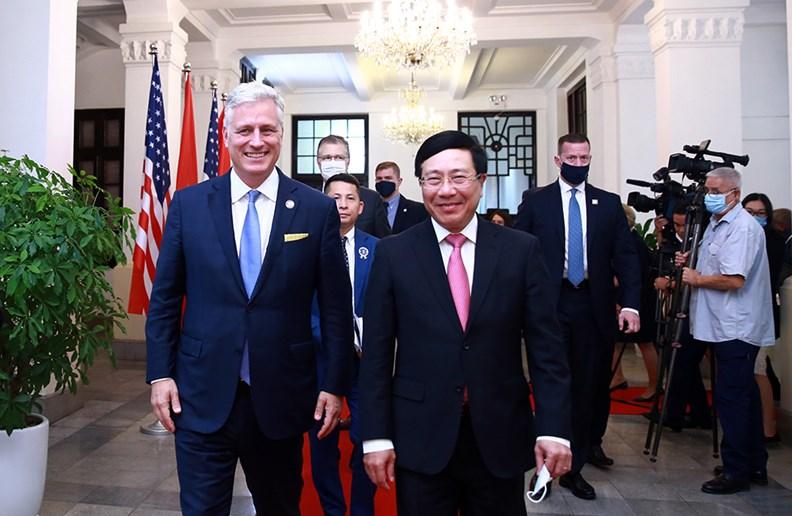 Quan hệ Việt Nam-Hoa Kỳ chưa bao giờ phát triển mạnh như hiện nay - ảnh 2