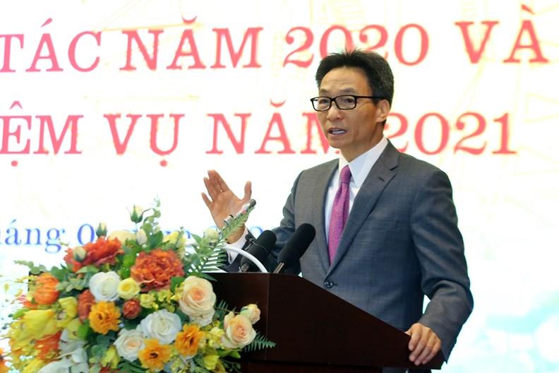 Hoạt động của Phó Thủ tướng dịp đầu năm 2021 - ảnh 11