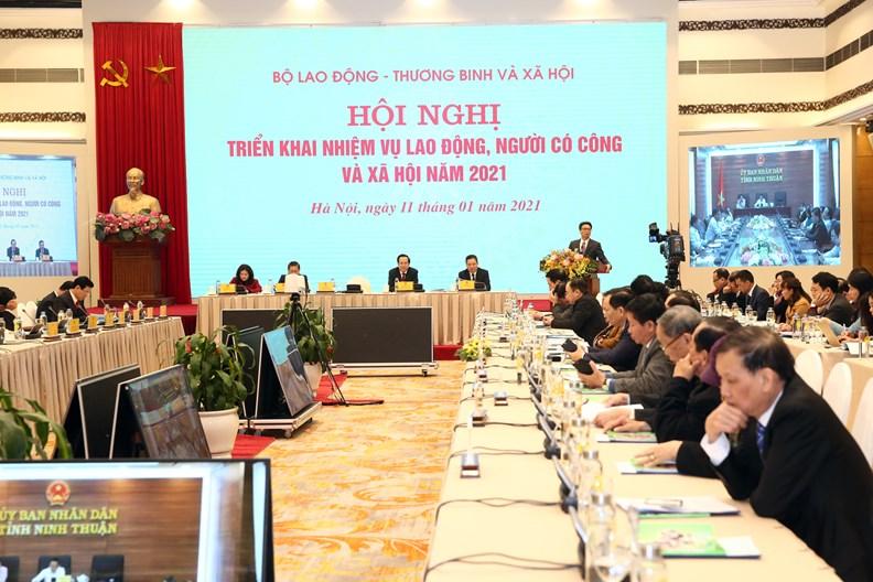 Hoạt động của Phó Thủ tướng dịp đầu năm 2021 - ảnh 9