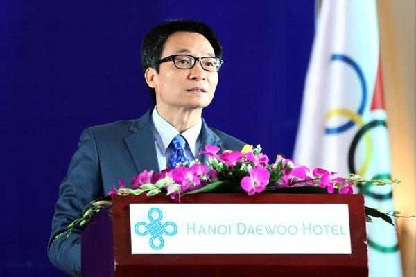 Phát biểu của Phó Thủ tướng Vũ Đức Đam tại Lễ kỷ niệm 40 năm thành lập Ủy ban Olympic Việt Nam  - ảnh 1