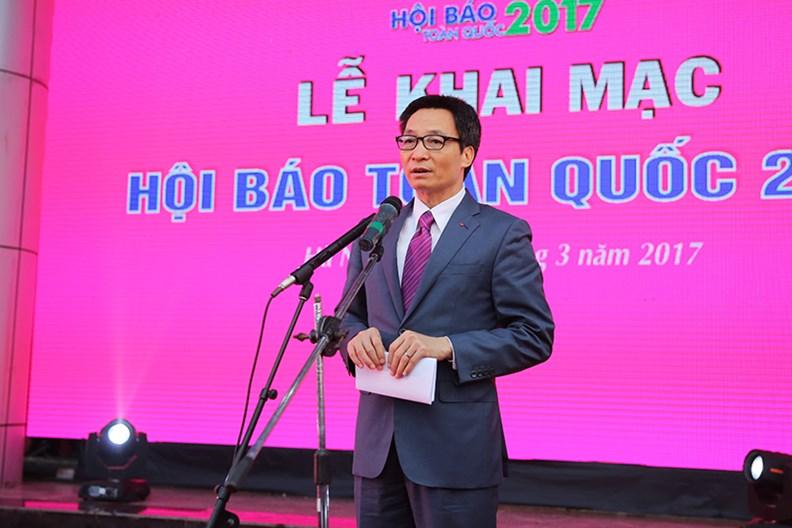 Phát biểu của Phó Thủ tướng tại Lễ Khai mạc Hội báo toàn quốc 2017 - ảnh 1