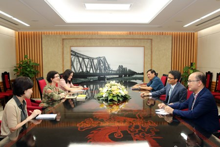 Phó Thủ tướng tiếp Giám đốc UNAIDS tại Việt Nam - ảnh 1