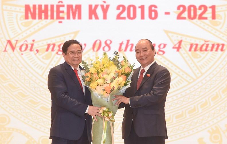 Lễ bàn giao công việc của Thủ tướng Chính phủ - ảnh 1