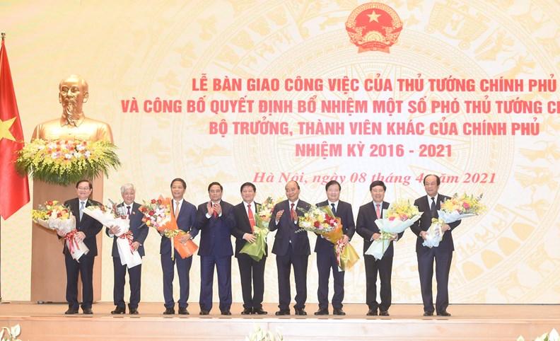 Lễ bàn giao công việc của Thủ tướng Chính phủ - ảnh 7