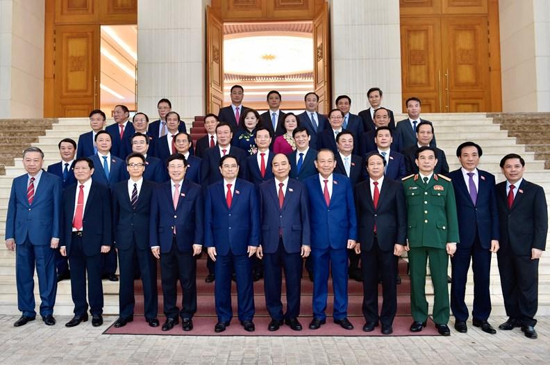 Lễ bàn giao công việc của Thủ tướng Chính phủ - ảnh 8