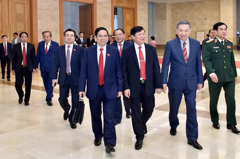 Lễ bàn giao công việc của Thủ tướng Chính phủ - ảnh 10