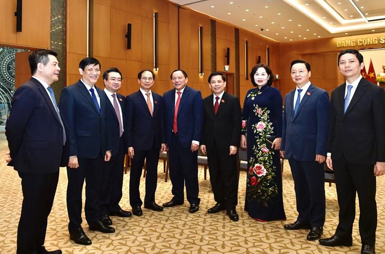 Lễ bàn giao công việc của Thủ tướng Chính phủ - ảnh 11