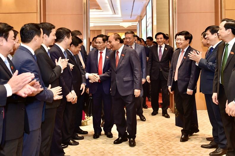 Lễ bàn giao công việc của Thủ tướng Chính phủ - ảnh 9