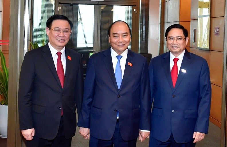Photos: PM Pham Minh Chinh delivers first policy speech - ảnh 6