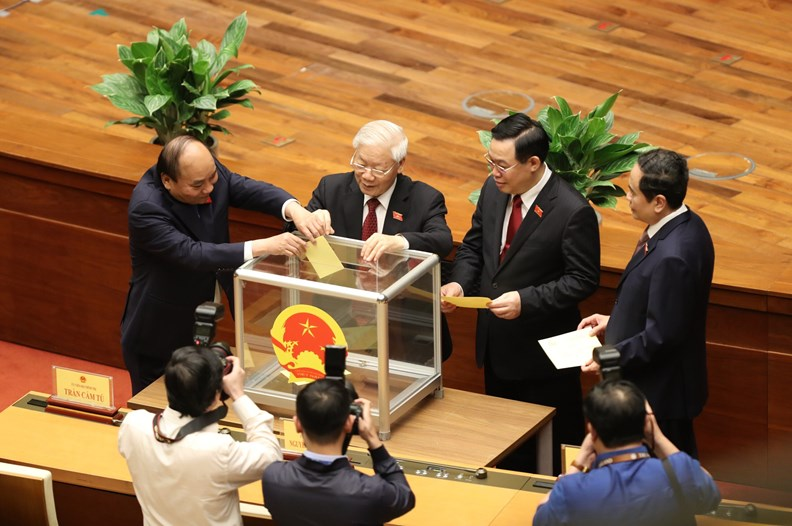 Photos: PM Pham Minh Chinh delivers first policy speech - ảnh 7