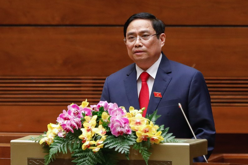 New Prime Minister Vows To Continue Reform Process In First Policy Speech - ảnh 1