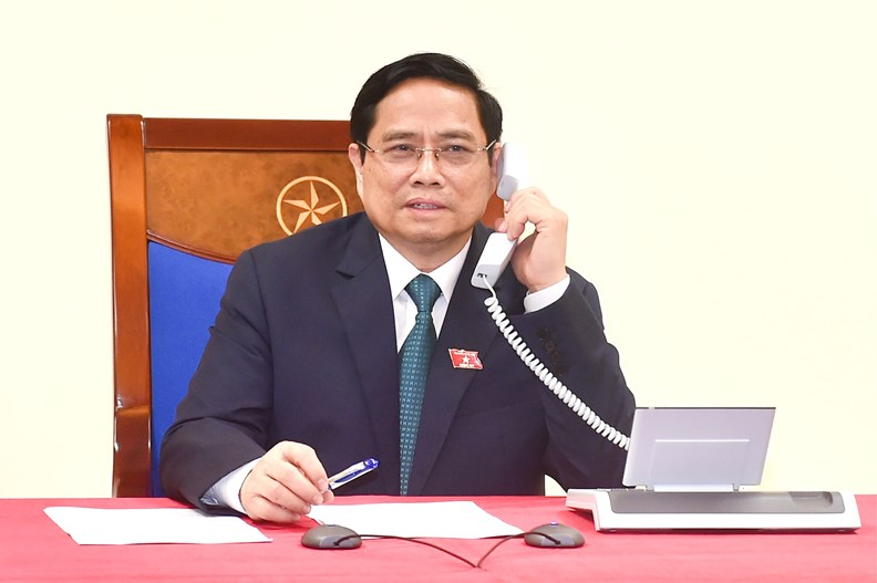 First foreign leaders congratulate Viet Nam's newly-elected PM over phone - ảnh 1