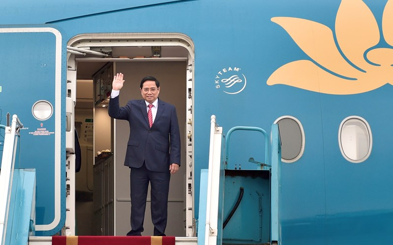Prime Minister Pham Minh Chinh attends ASEAN Leaders' Meeting in Jakarta, Indonesia